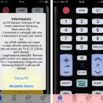 iPhone come telecomando TV