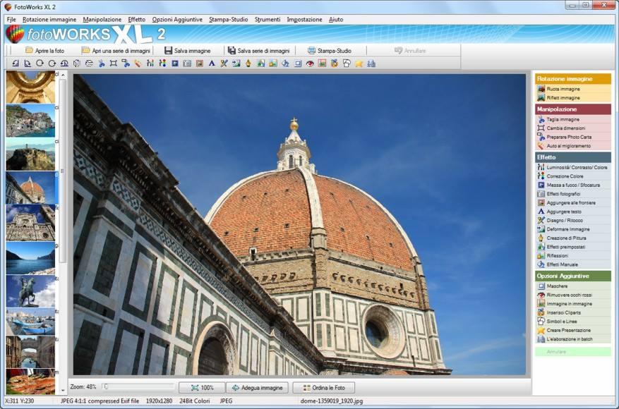 Fotoworks effetti speciali nel miglior programma per modificare foto