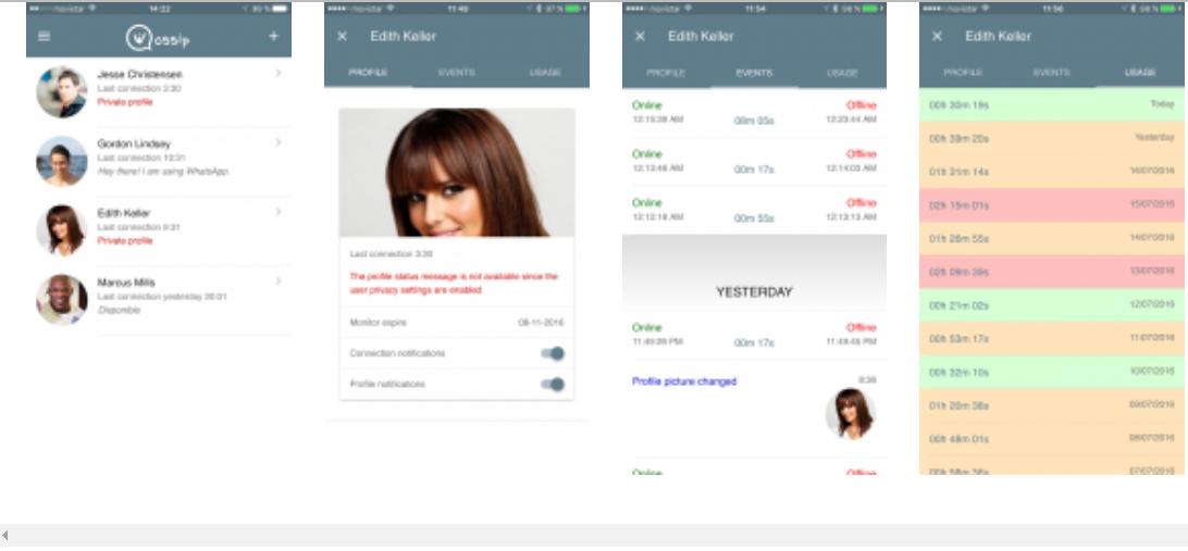 Spiare Whatsapp Wossip - Tracker for WhatsApp 1.0.11 Scarica APK per Android