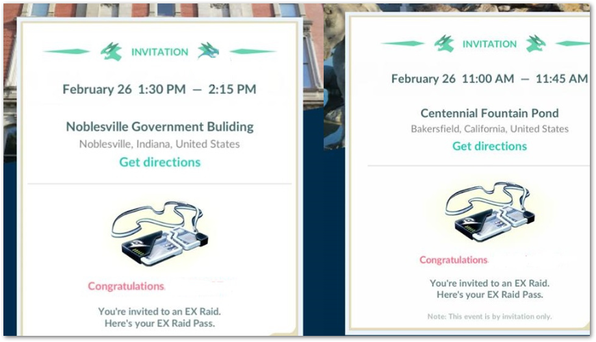 Raid Pass Ex - Pokemon Go