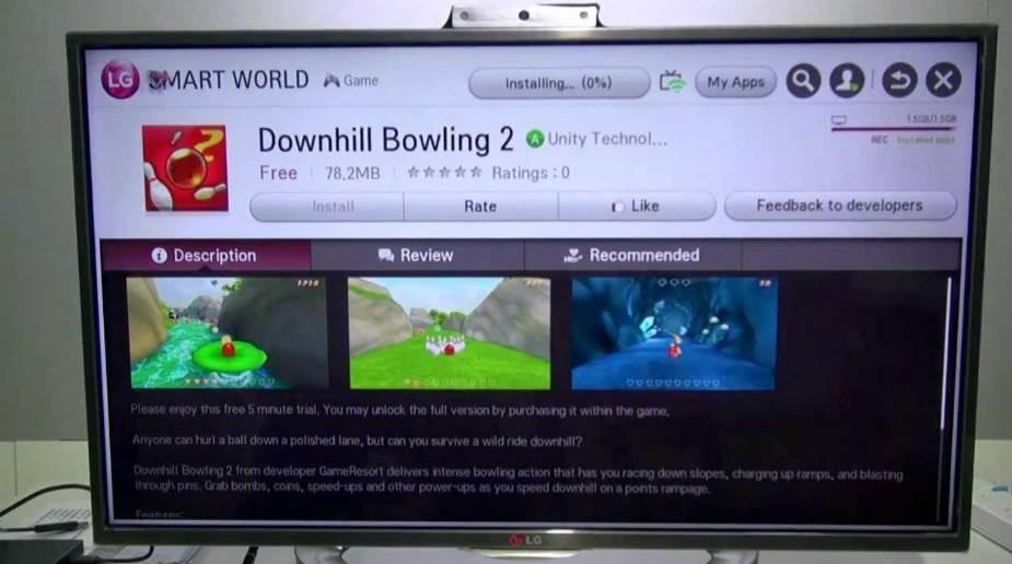 registrare da smart TV